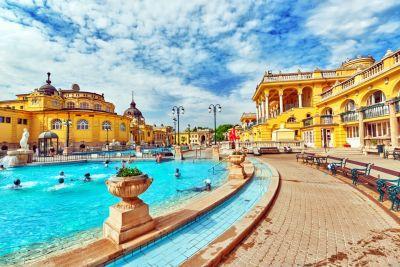 Lázně v Budapešti byly těžké zklamání