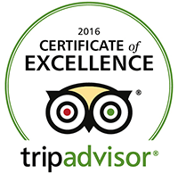 Tripadvisor certificate of excellence 2016 Let it Ride Electric Bikes
