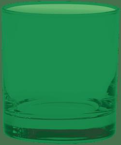 11 oz. Executive Old Fashion - Custom Glow® Full Body Spray - Green
