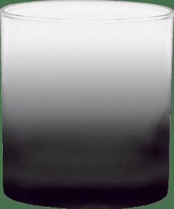 11 oz. Executive Old Fashion - Custom Frosty Glow® Spray - Black