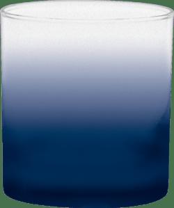 11 oz. Executive Old Fashion - Custom Frosty Glow® Spray - Navy