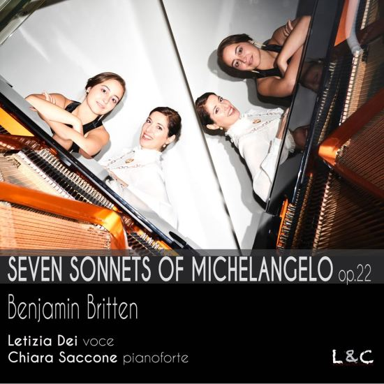 Britten Seven Sonnets of Michelangelo, copertina CD