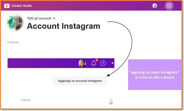pubblicare su instagram da pc con creator studio