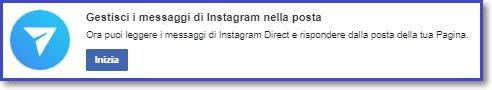 Ora puoi leggere i messaggi di Instagram Direct e rispondere dalla posta della tua Pagina