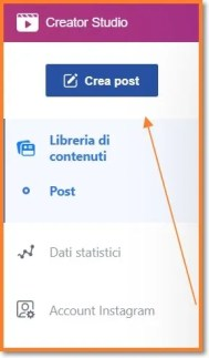 programmare post su instagram