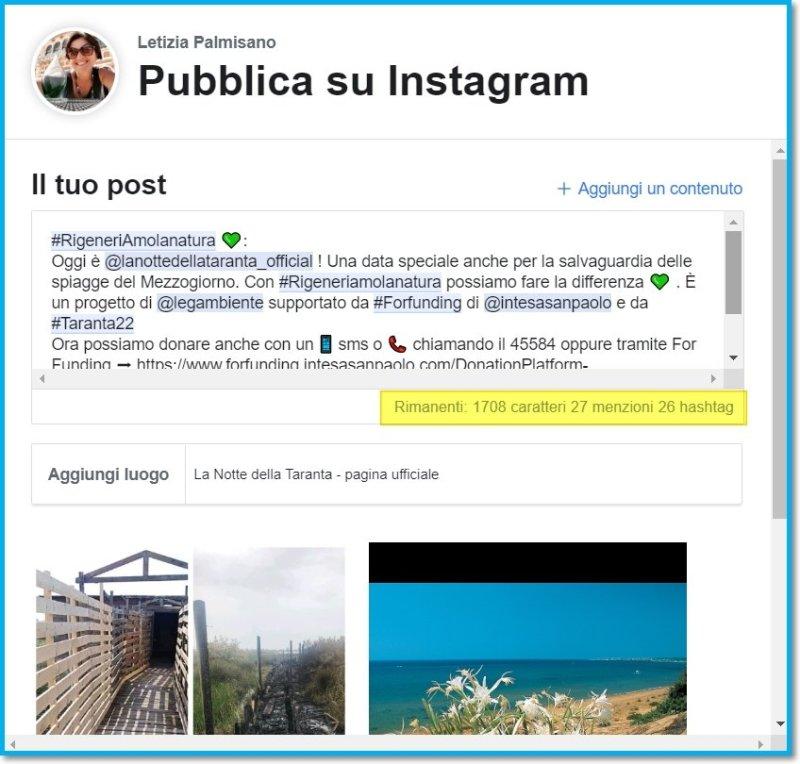 programmare contenuti instagram gratis