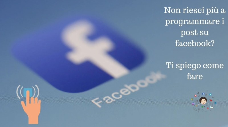 programmare post facebook se te li salva solo in bozza