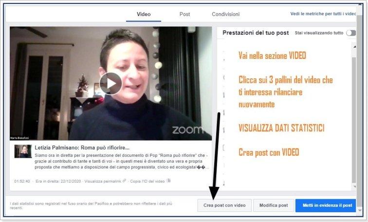 crossposting facebook video