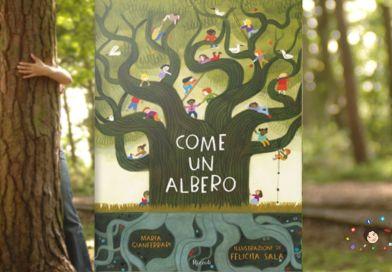 libro come un albero 2021 bambini