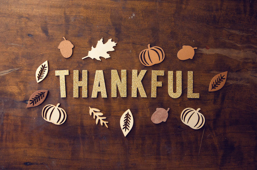 Thankfulness During Thanksgiving