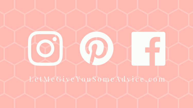 Social Media Icons for Let Me Give You Some Advice