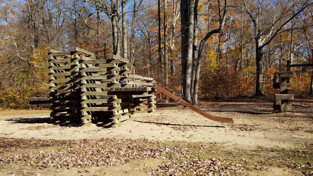 Wooden Playground at Shades State Park | Let Me Give You Some Advice