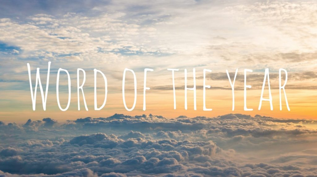 Word of The Year from Let Me Give You Some Advice