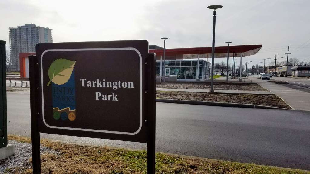 Tarkington Park in Midtown Indianapolis