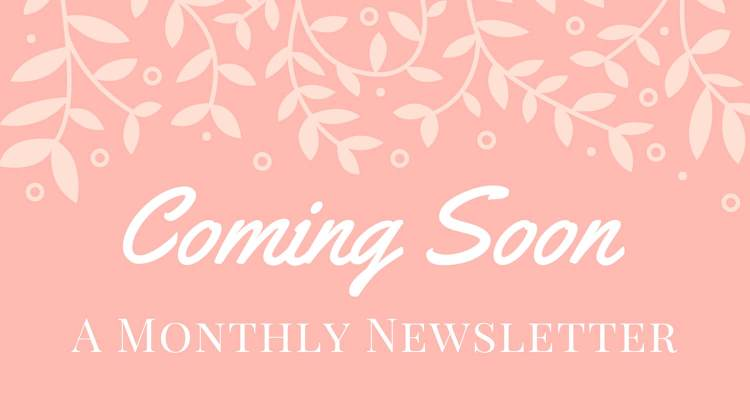Brand New Newsletter + A Giveaway!