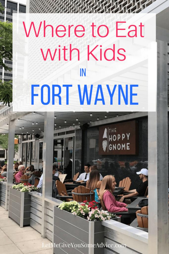 Restaurants for Kids in Fort Wayne