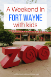 A Weekend with Kids in Fort Wayne, Indiana. Create a custom itinerary of family fun for your next getaway with these great activities and attractions for kids. Fort Wayne is the perfect family getaway!