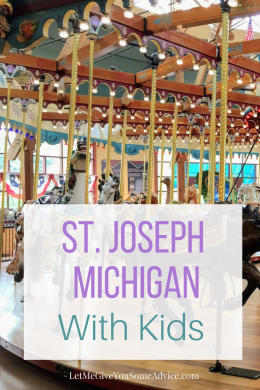 St. Joseph, Michigan with Kids