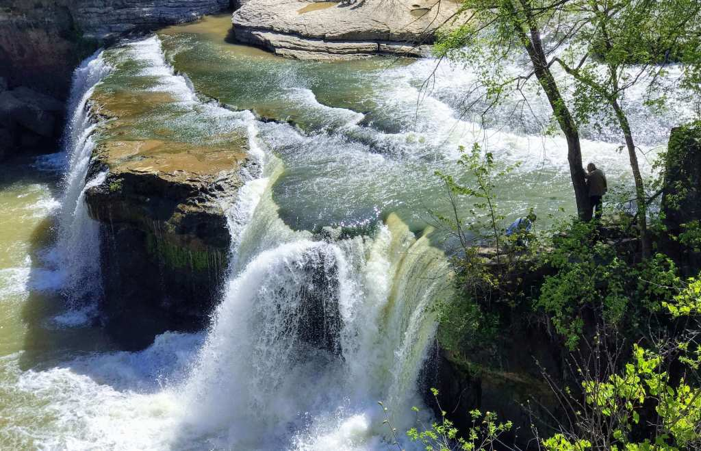Cataract Falls State Recreation Area - Largest Waterfall in Indiana