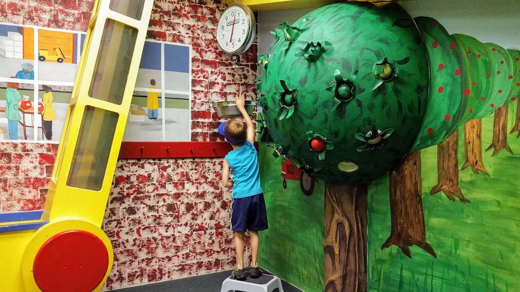 Curious Kids' Children's Museum - A day in St. Joseph, Michigan with kids