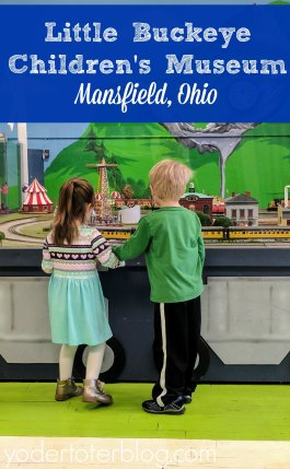 Midwest Children's Museum - Little Buckeye Children's Museum Mansfield OH. Courtesy of YoderToderBlog.com