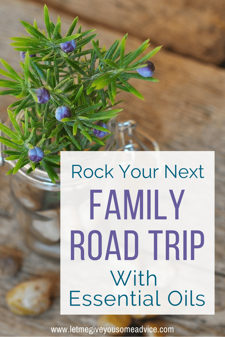 Take care of your family with this list of essential oils for road trips. From stinky socks to upset tummies, oils can help you rock your family road trip!