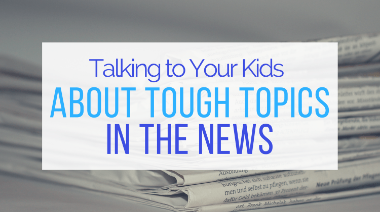 How To Talk to Kids About the News from Let Me Give You Some Advice