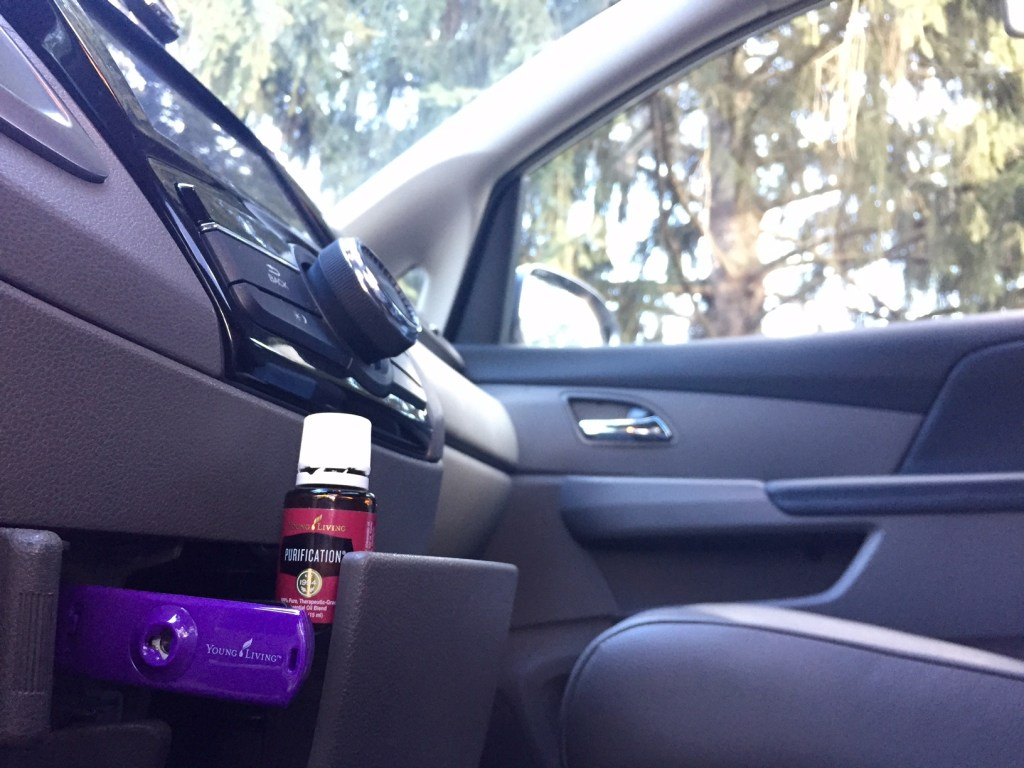 Essential Oils for Road Trips - Car Diffuser from Young Living