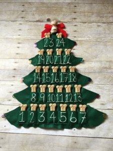 Advent Calendars for Families - Dog Treat Advent Calendar