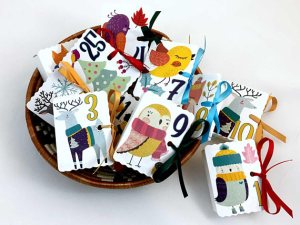 Advent Calendar Ideas for Families - Woodland Creatures