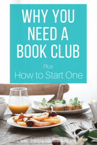 Why You Need a Book Club. Think you don't need a book club? Find out why everyone should be reading with a group.