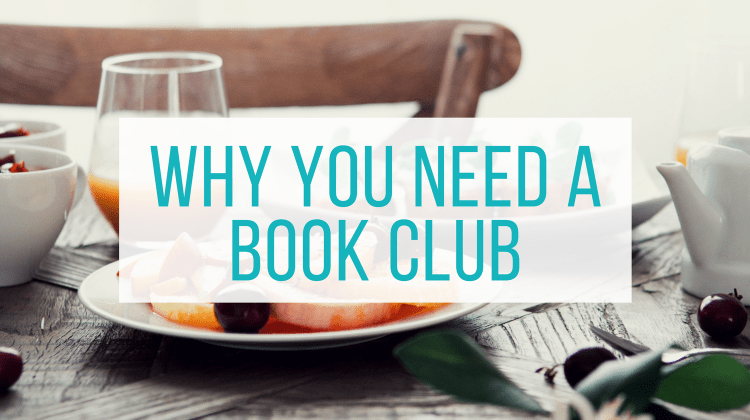 Why You Need A Book Club from Let Me Give You Some Advice