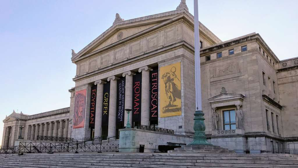 Chicago Museums for Kids - The Field Museum Steps