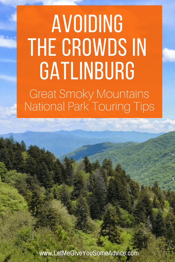 Don't skip a family vacation to the Smoky Mountains just because it might be crowded. Avoiding the crowds in Gatlinburg and Great Smoky Mountain National Park is easier than you think. With these tips you'll make sure to have the beauty of the Smokies all to yourself.