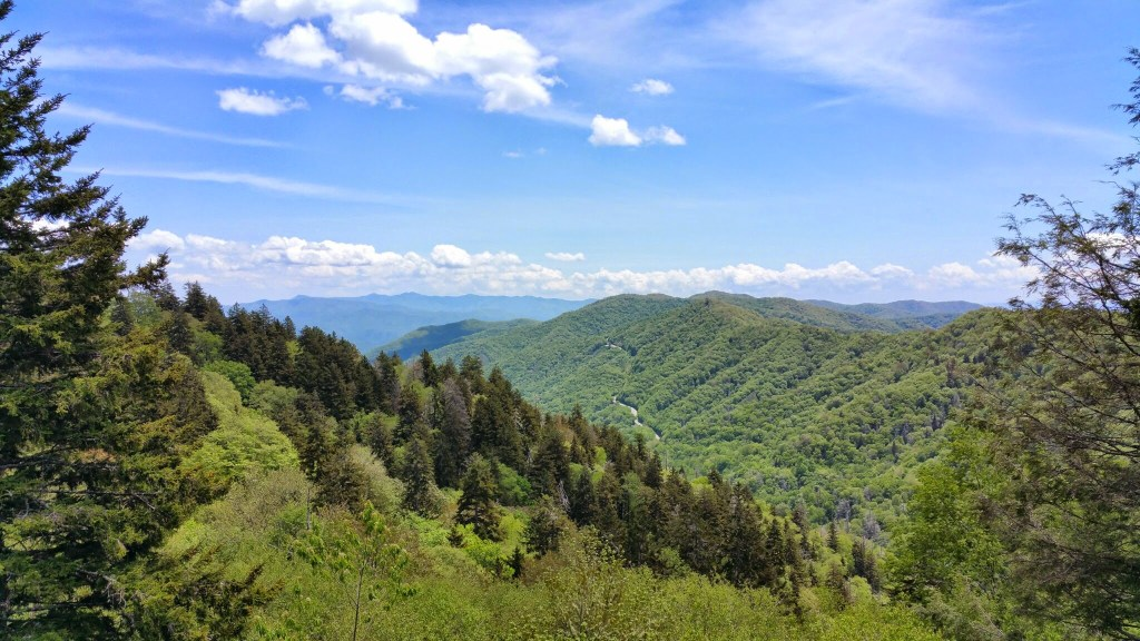 Avoiding Crowds in Gatlinburg and GSMNP - Newfound Gap Overlook