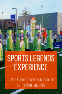 Sports Legends Experience Tips at the Children's Museum of Indianapolis