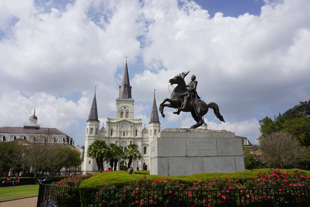 New Orleans Attractions for Kids - Jackson Square in the French Quarter