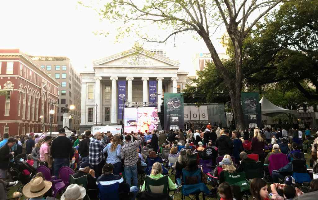 New Orleans Attractions for Kids - Wednesdays at the Square free concert