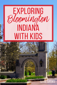 Exploring Bloomington Indiana with Kids. Find out why they home of Indiana University is a great midwest family getaway destination.