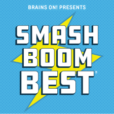 Best Podcasts for Boys - Smash Boom Best Podcast Logo