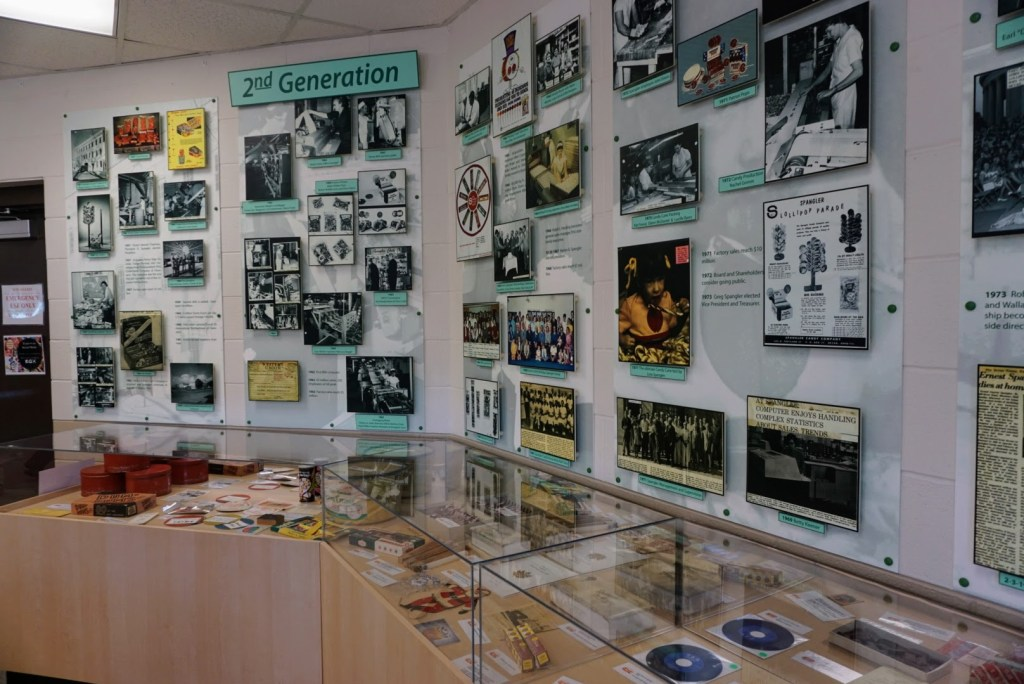 Spangler Candy Factory Tours - museum