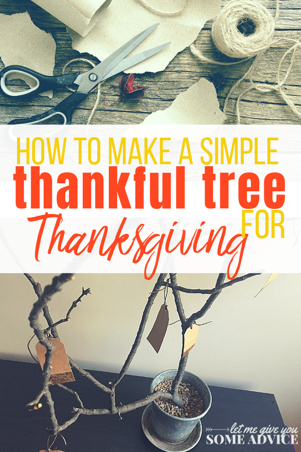 Make your own Thanksgiving Tree. A Thankful tree is a great way to teach your kids thankfulness as a Thanksgiving tradition!