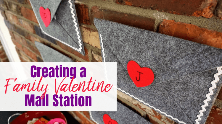 Valentine's Mail Station feature image with text