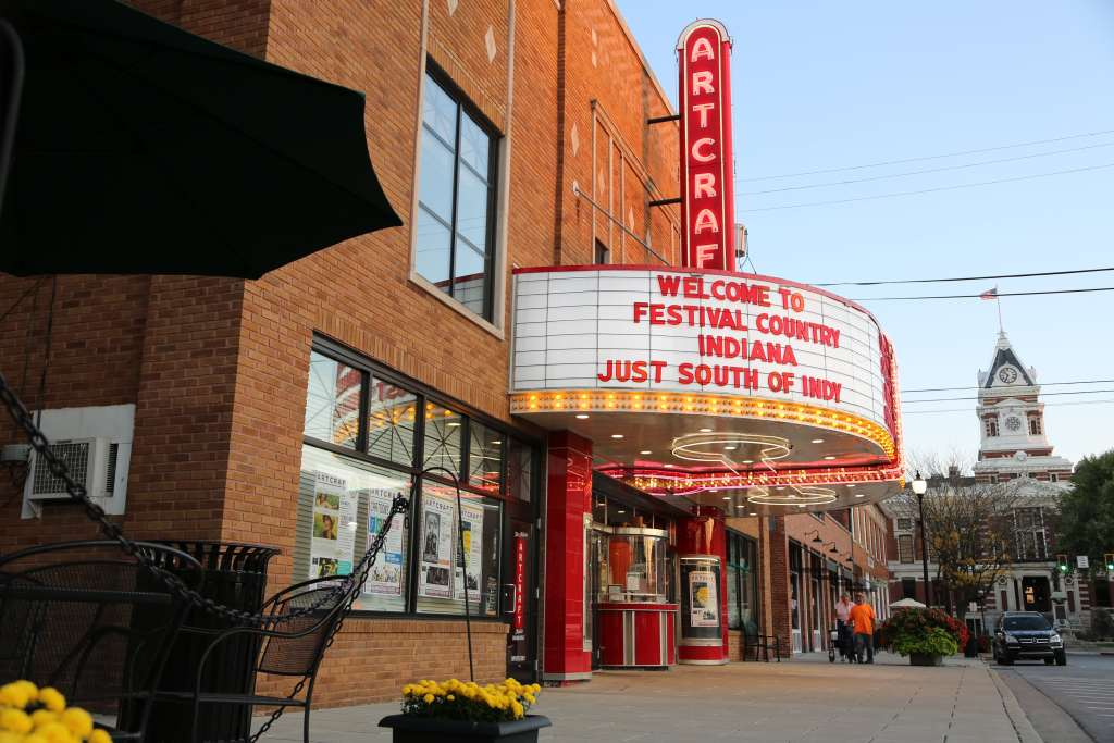 Franklin Indiana with Kids - Artcraft Theatre