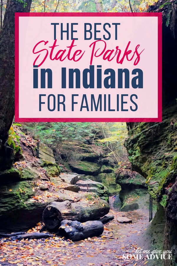 A massive list of Indiana State Parks for families and kids. Discover places to camp, hike, explore and play outdoors when you visit Indiana's state parks. Free printable list of Indiana state parks. Indiana State Park Inns | Indiana campground | Midwest camping and hiking for kids | family outdoor recreation | Turkey Run | Brown County | Clifty Falls | Spring Mill | Prophetstown | Pokagon