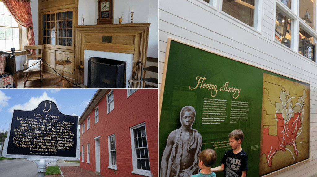 Richmond Indiana with Kids - Levi Coffin House