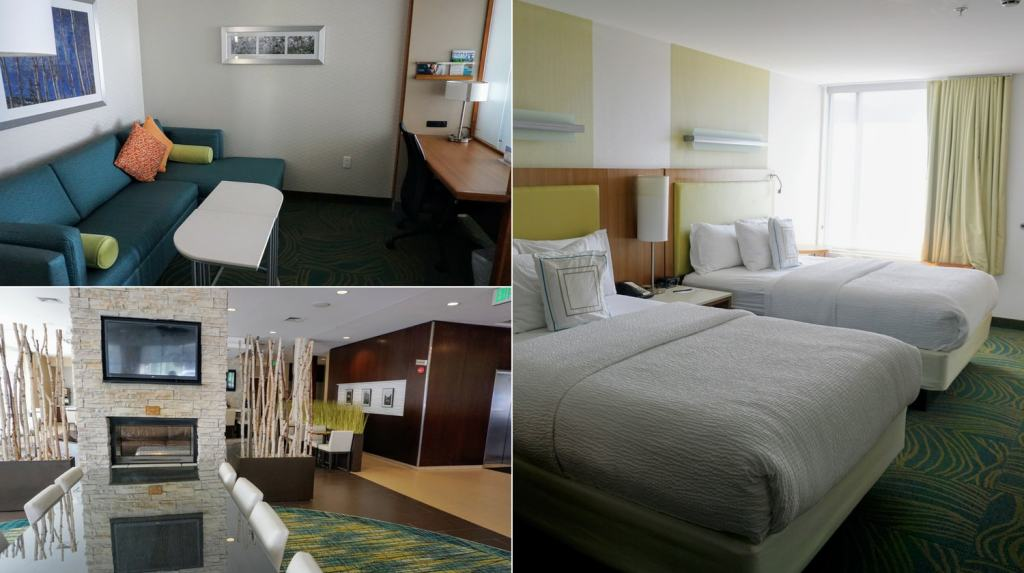 Bloomington Indiana with Kids - SpringHill Suites hotel