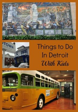 Fun Places to Visit in Michigan with kids - Detroit from Family Travel Magazine