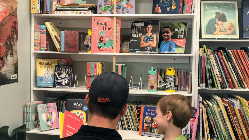 Franklin Indiana with Kids - Wild Geese Bookstore