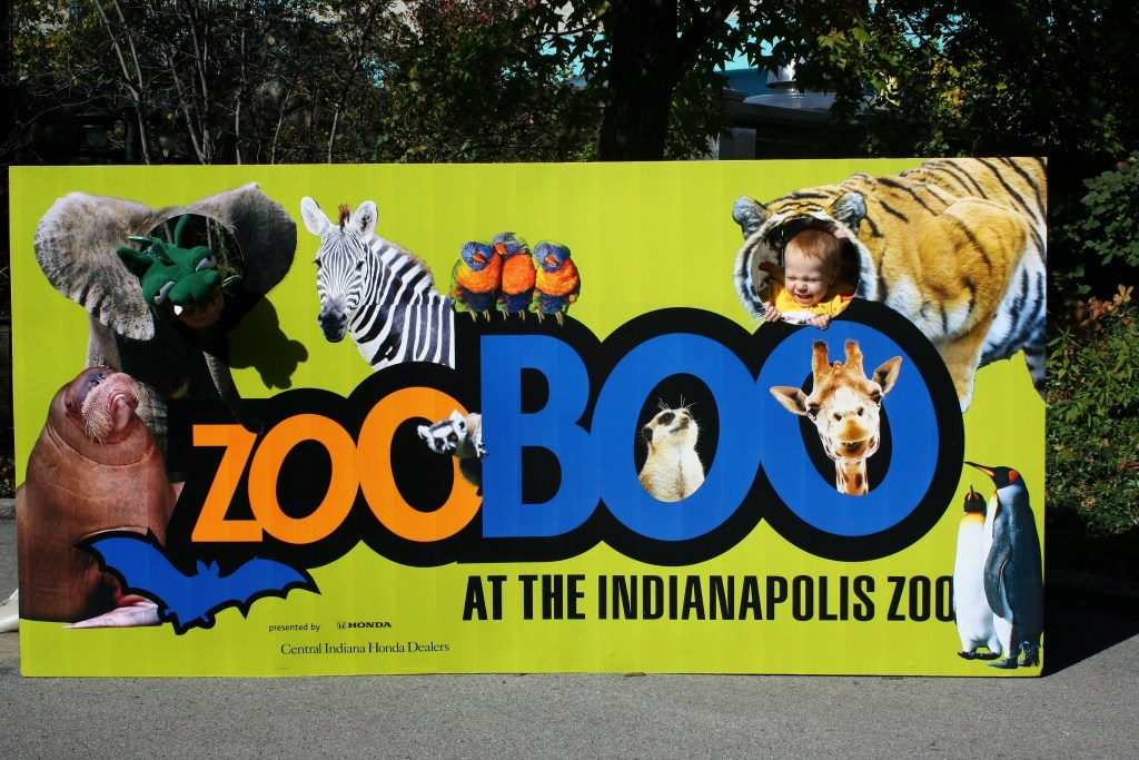 Fall Weekend Getaway in Indianapolis for Kids - Zoo Boo